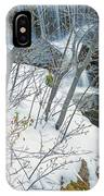 Still Under A Blanket Of Snow In Early May IPhone Case