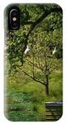 Stillness Of Spring IPhone Case