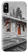 Stockbridge Train Station IPhone Case