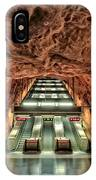 Stockholm Metro Art Collection - 013 IPhone Case