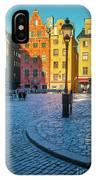 Stockholm Stortorget Square IPhone Case