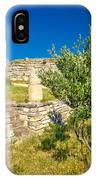 Stone Artefacts Of Asseria Ancient Town IPhone Case