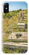 Stone Artifacts Of Ancient Town Of Asseria  IPhone Case