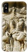 Stone Carving On Mausoleum Of The Julii IPhone Case
