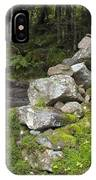 Stone Gate - Edmands Path - White Mountains New Hampshire  IPhone Case