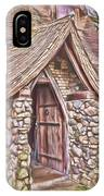 Stone House In Skagit County IPhone Case