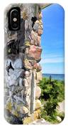 Stone House Sea Side IPhone Case