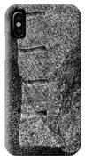 Stone Mason Scars Monochrome IPhone Case