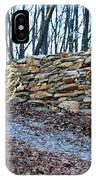 Stone Wall Ga Mountain 1 IPhone Case