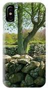 Stone Wall In Rhode Island IPhone X Case
