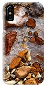 Stones And Ice IPhone Case