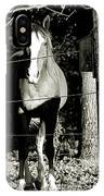 Stopping For A Pose - Southern Indiana IPhone Case