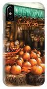 Store - Hoboken Nj - The Fruit Market IPhone Case