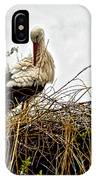 Stork Nest IPhone Case