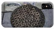 Storm Drain IPhone X Case
