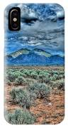 Storm Over Taos Mountain IPhone Case