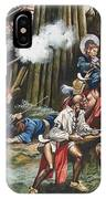Storming Of The Fortress Of Neoheroka IPhone Case