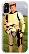 Stormtrooper Barney Fife IPhone Case