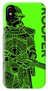 Stormtrooper - Green - Star Wars Art IPhone Case