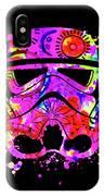 Stormtrooper Mask Rainbow 10 IPhone Case