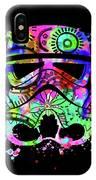 Stormtrooper Mask Rainbow 6 IPhone Case