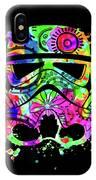 Stormtrooper Mask Rainbow 8 IPhone Case