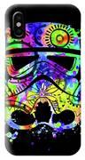 Stormtrooper Mask Rainbow 9 IPhone Case