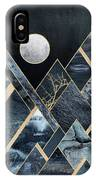 Stormy Mountains IPhone Case