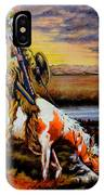 Stormy Prairie IPhone Case