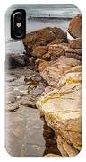 Stormy Rock Beach IPhone Case