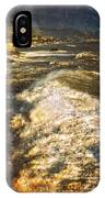 Stormy Sea IPhone X Case by Silvia Ganora