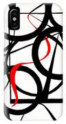 Straights And Rounds IPhone Case