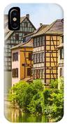 Strasbourg, Half-tmbered Houses, Petite France, Alsace, France  IPhone Case