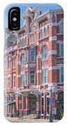 Strater Hotel IPhone Case by Jason Coward