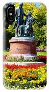 Strauss In Flowers IPhone Case