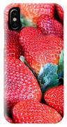 Strawberries 8 X 10 IPhone Case