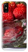 Strawberries In The Sun IPhone Case
