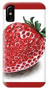 Strawberry Bite IPhone X Case