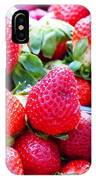 Strawberry Fest IPhone Case