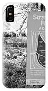 strawberry fields central park New York City USA IPhone Case
