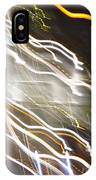 Streaming Abstract IPhone Case