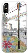 Street And Colors. Nizhny Novgorod, Sormovo. 3 May, 2015 IPhone Case