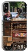 Street Entertainer In Bruges Belgium IPhone Case