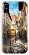 Street In Florence IPhone Case