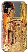 Street In Old Town. IPhone Case