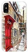 Street In Robin Hoods Bay 01 IPhone Case