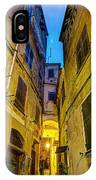 Street In Vernazza IPhone Case