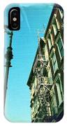 Street Lamp And Fire Escape IPhone Case