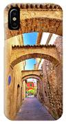 Street Of Sirmione Historic Architecture View IPhone Case