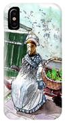 Street Seller In Helsingor IPhone Case